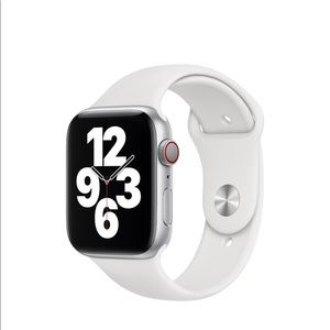 Apple Watch white sports band M/L